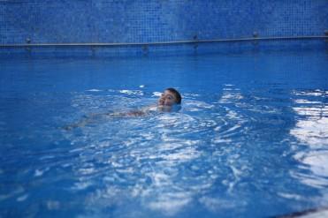Rõõm näha, et Priit tunneb ennast vees üsna mugavalt
