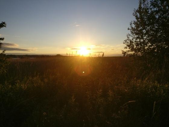 Mahu päikeseloojang