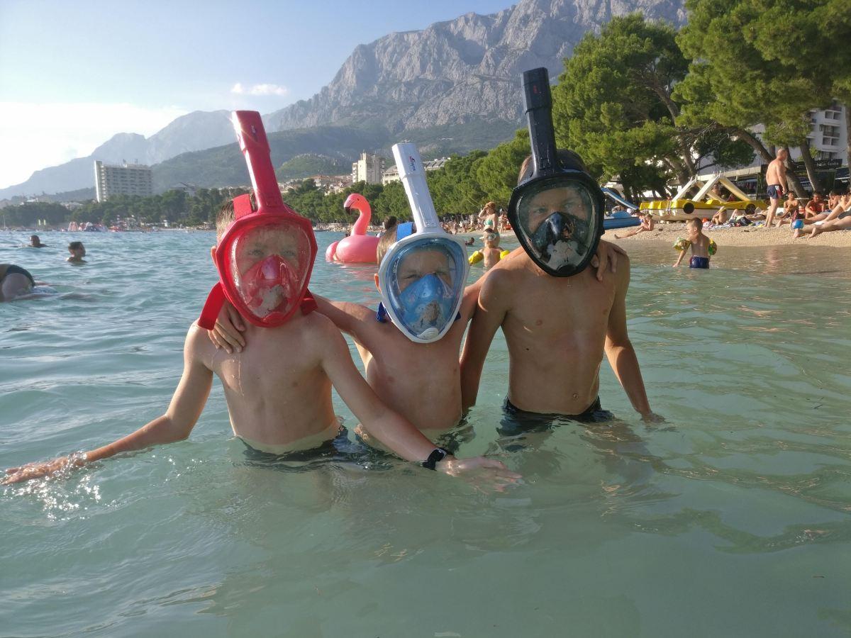 Lastega Horvaatias