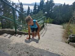 Kui trepp on liiga suur ja päike on liiga kuum :)