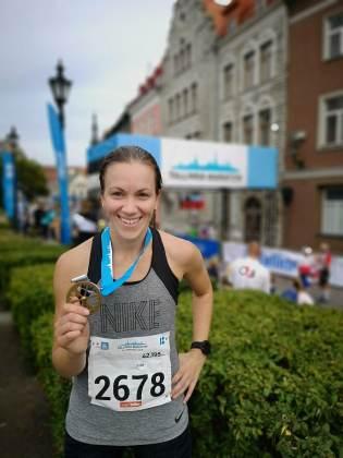 Esimene maraton tehtud :)