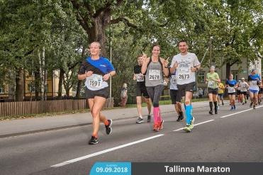 Esimene maraton, juhhuu!