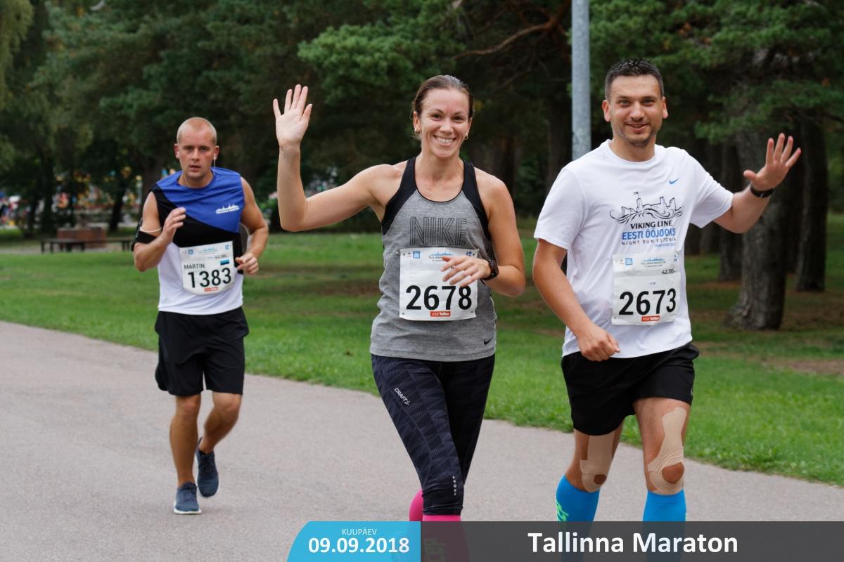 Maraton - tehtuuud! :)